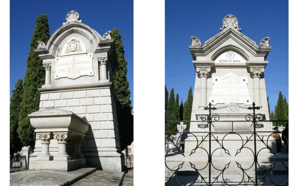 arquitectura funeraria cementerio municipal de Toledo A de Mingo hombredepalo04