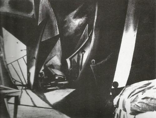 De caligari a Hitler 2 Cine expresionista - Escenario expresionista