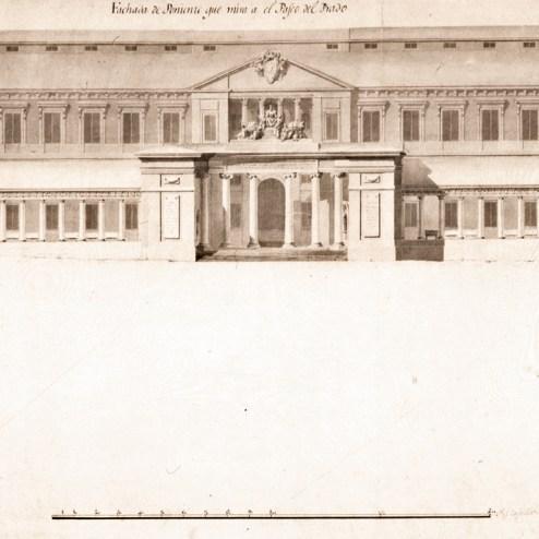 Trazas de la propuesta no ejecutada (1785)