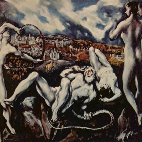 """El Greco, """"Laooconte"""", 1609"""