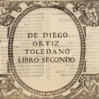 """""""Libro secondo"""" Tratado de glosas"""