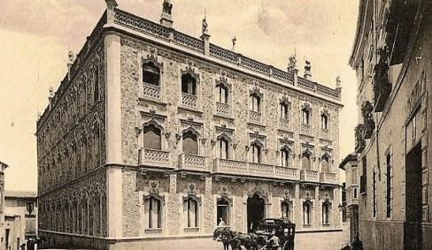 Hotel Castilla de Toledo. Foto Castañeira, 1920