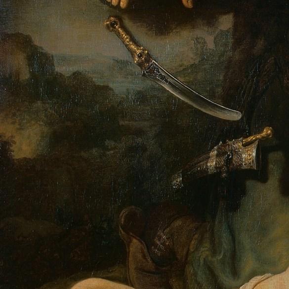 Detalle del lienzo.