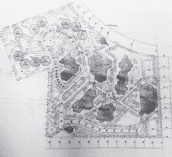 Planta de la Universidad Laboral de Toledo. (1972)
