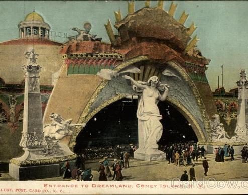 Entrada a Dreamland Coney Island, NY