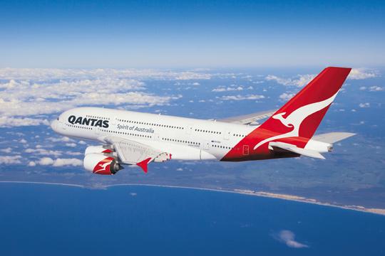 Avión A380 de Quantas