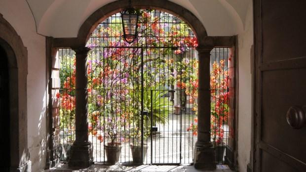 Un jardín cerrado en Catania