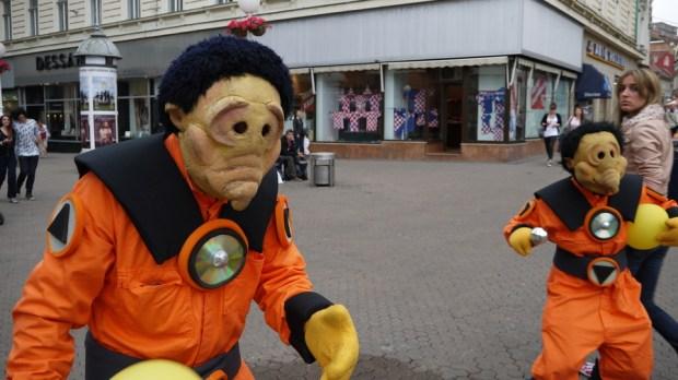 Dos marcianos sueltos por Zagreb