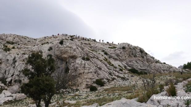 Caminantes en la Sierra de Tramontana