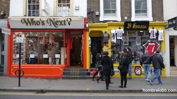 Tiendas de ropa Londinenses