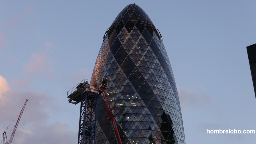 The Gherkin, Londres