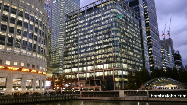 Canary Wharf, Londres, edificio