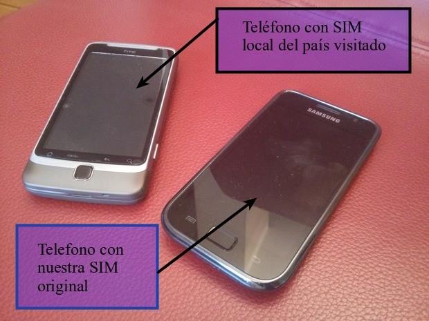 Dos teléfonos