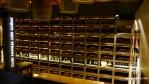 La sala fantástica en la Bodega Luis Cañas, Rioja Alavesa