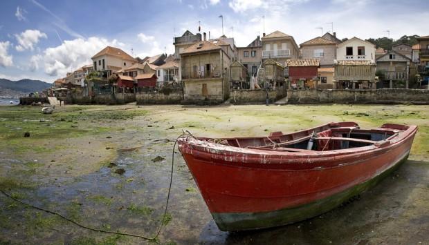 Bote en Combarro, Pontevedra
