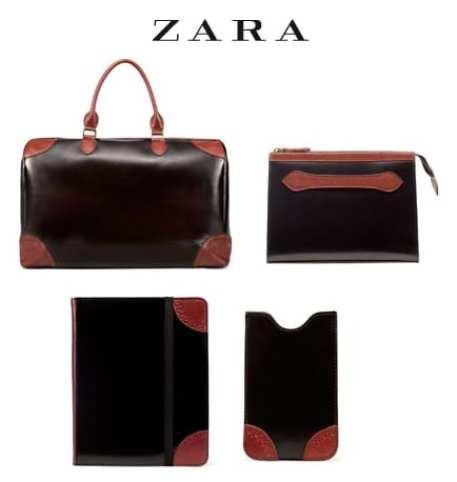 Edición limitada en articulos de viaje de Zara