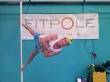Kristian Lebedev, el campeón del pole dance