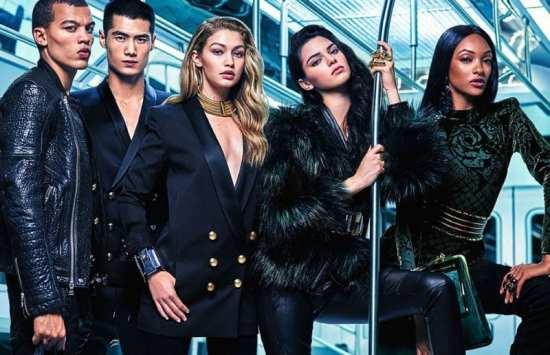 Balmain x H&M campaña (1)