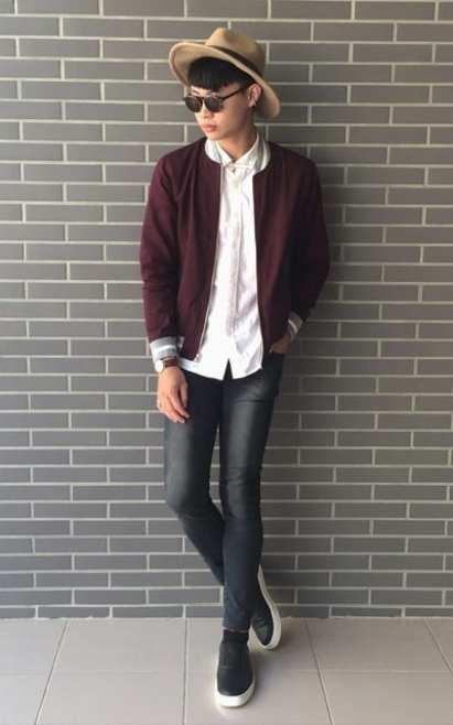 moda en la calle, chaquetas de otoño (9)
