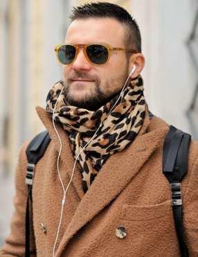 Monsieur Jerome; streetstyle; Milan Fashion Week; zegna