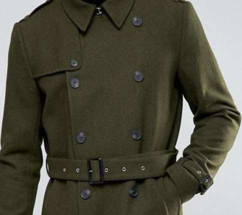 abrigo cinturón