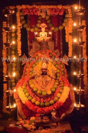 Hombuja-Jain-Math-Humcha-Navarathri-Dasara-Celebrations-Pooja-Day-03-0018
