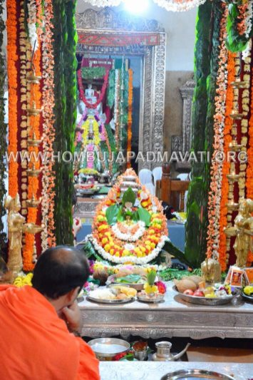 Hombuja-Jain-Math-Humcha-Navarathri-Dasara-Celebrations-Pooja-Day-05-0012