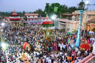 Hombuja-Humcha-Jain-Math-Rathyatra-Evening-0005