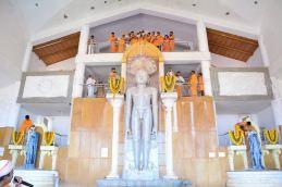 Humcha-Hombuja-Jain-Math-Rathotsava-Day-05-Guddada-Basadi-Parshwanath-Tirthankar-Abhisheka-0010