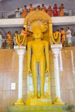Humcha-Hombuja-Jain-Math-Rathotsava-Day-05-Guddada-Basadi-Parshwanath-Tirthankar-Abhisheka-0012