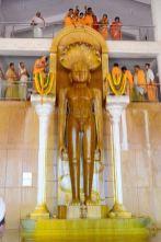 Humcha-Hombuja-Jain-Math-Rathotsava-Day-05-Guddada-Basadi-Parshwanath-Tirthankar-Abhisheka-0013