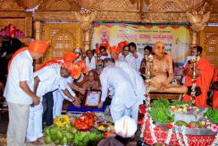 Acharya-Shanthisagar-Maharaj-Diksha-Shatamanotsava-Procession-Function-Aradhane-Humcha-Hombuja-Jain-Math-0010