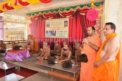 Acharya-Vardhamansagarji-Maharaj-Muni-Sangh-Hombuja-Jain-Math-Mangala-Pravesha-0027