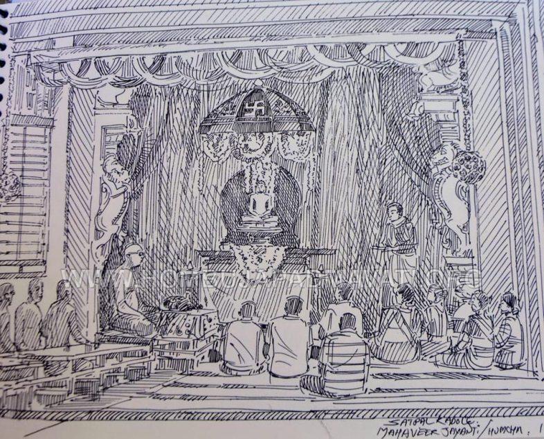 Humcha-Hombuja-Jain-Math-Mahavir-Jayanthi-Janmakalyana-2019-0024