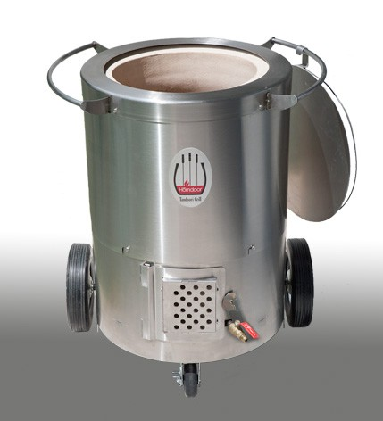Hōmdoor Natural Gas Stainless Steel Outdoor Tandoor - 1