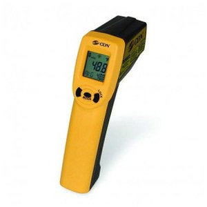 Infrared Point-and-Shoot Laser Thermometer