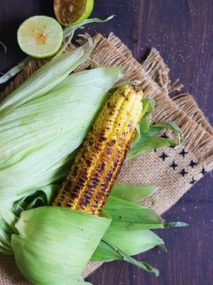 Tandoori roasted corn on the cob - Homdoor