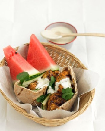 Tandoori Chicken Burger - Homdoor Tandoors