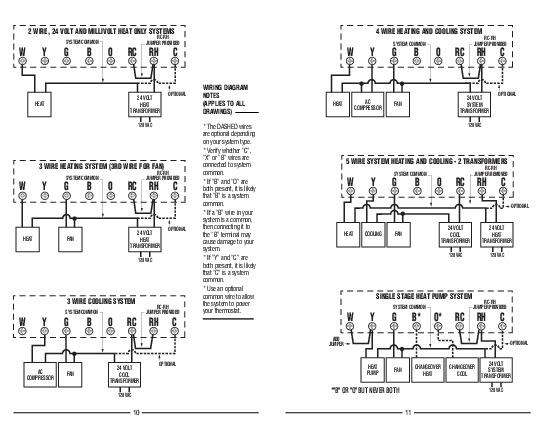 Lux Tx9000ts Wiring Diagram - Somurich.com