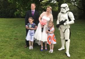 Maus Family Wedding Day
