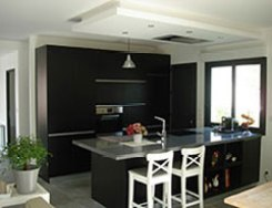 Cuisine contemporaine et design apres home staging