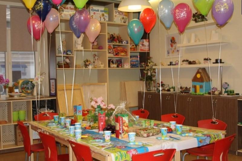 стол на день рождения ребенку
