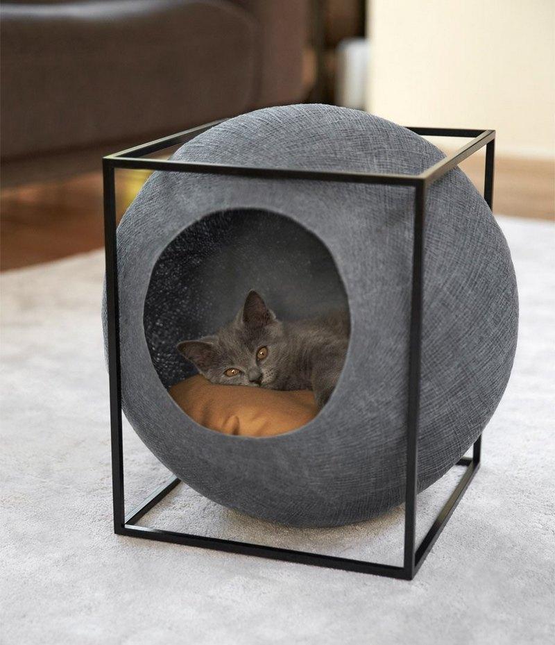 абстрактный дом шар в квадрате