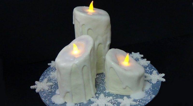 как делать свечи из воска