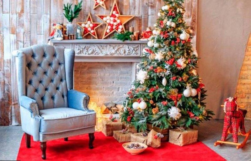 украшение дома на новый год своими руками