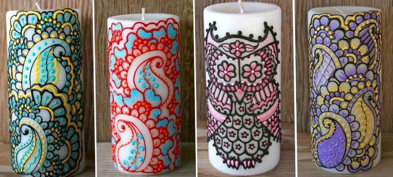 красивые свечи