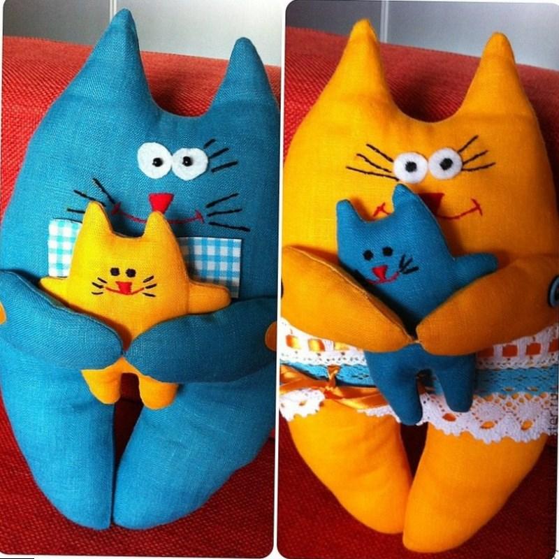 детские подушки котики