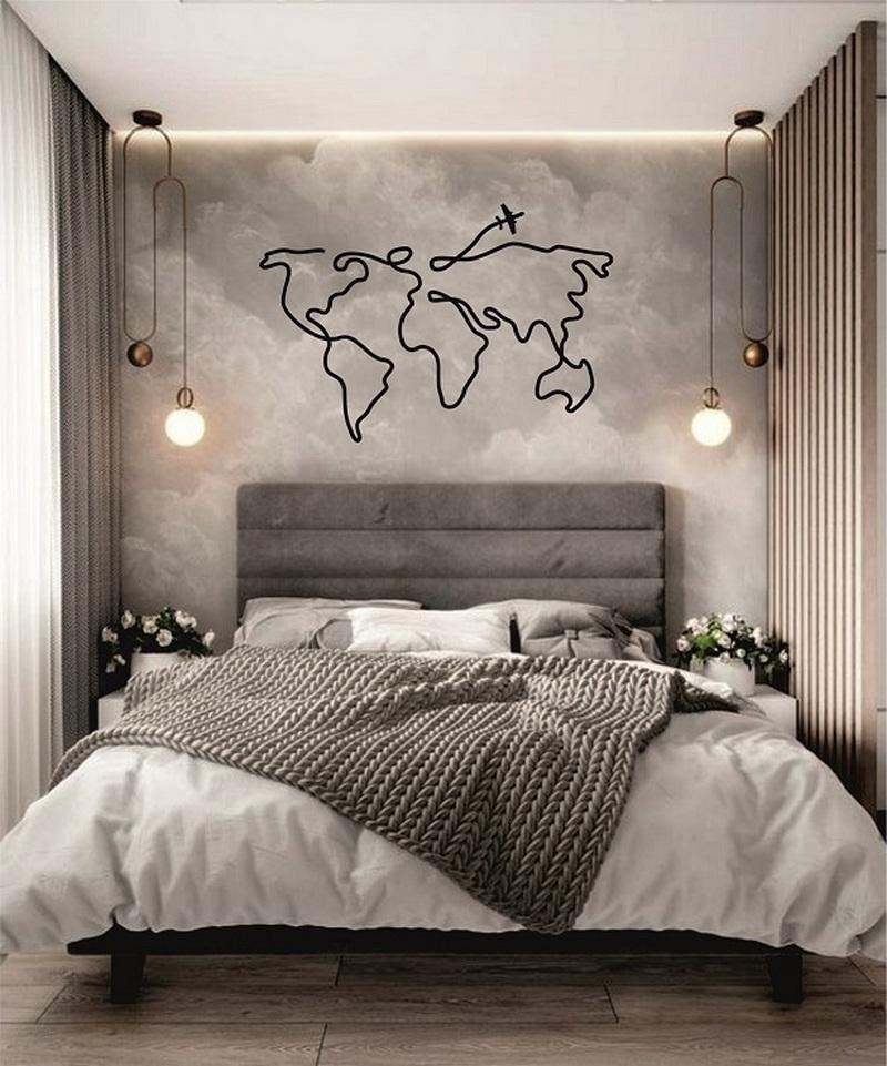 домашний декор в спальне