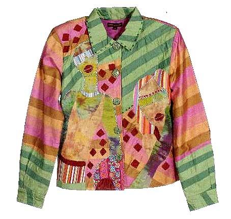 куртка пиджак хенд-мейд