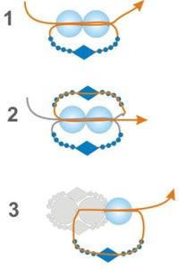 схема колье из бисера и бусин